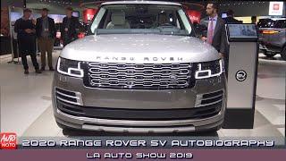 2020 Range Rover SV Autobiography LWB - Exterior And Interior - LA Auto Show 2019