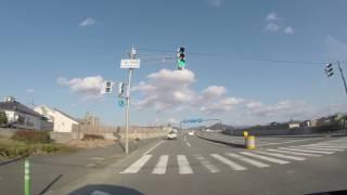 【但馬ドライブ】宮島交差点→但馬日高郵便局前交差点 60fps