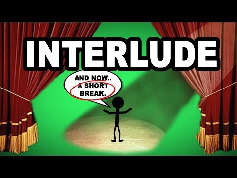 Learn English Words: INTERLUDE - Meaning, Vocabulary with Pictures and Examples