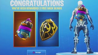 "HOW TO HAVE THE SAC A DOS ""PINGUIN AND GOLDEN BOUCLIER"" FREE ON FORTNITE!"