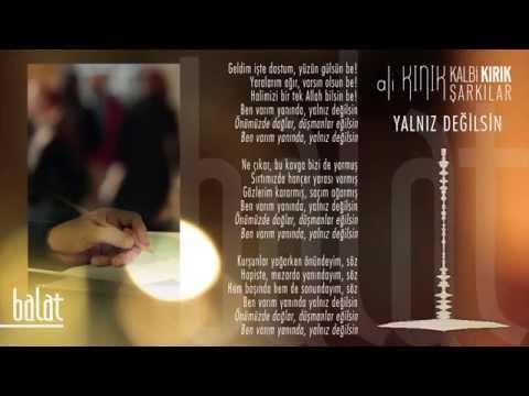 Ali Kınık - Yalnız Değilsin (Official Lyric Video)