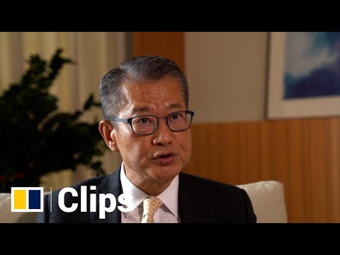 HK financial secretary Paul Chan on border reopening with mainland China and city's economic future