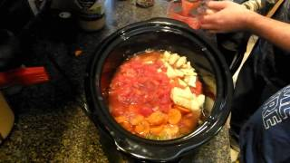 crock pot minestrone vegetarian