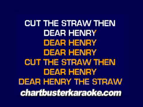 There's A Hole In The Bucket...........(Chartbuster Karaoke)