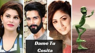top 5 bollywood celebrity challenge dame tu cosita 💖💖 non stop video