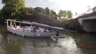 Episode 10 : Canal, échouages et chemin de halage. Montpellier - Bordeaux
