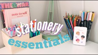stationery essentials for kpop journaling! ✨
