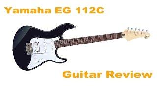 Yamaha EG 112C Guitar Review \\ Stefan's Bass Blog