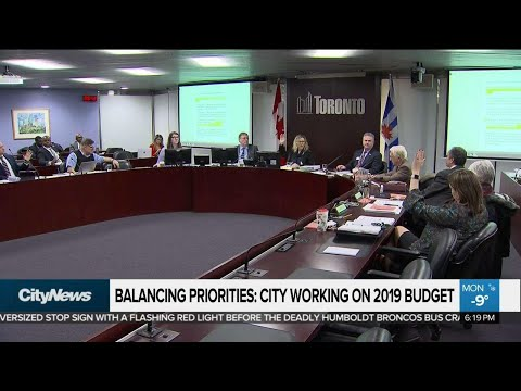 Increase in property taxes proposed as Toronto budget tabled