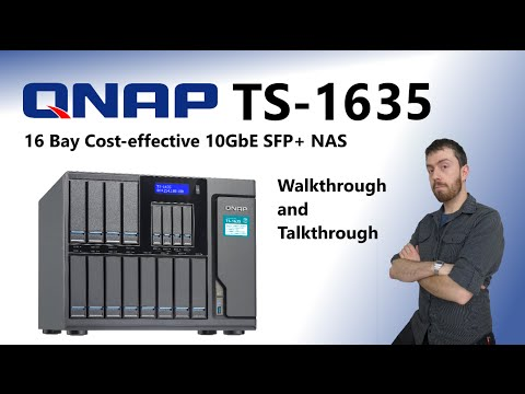 The QNAP TS-1635 16 Bay Cost-effective 10GbE SFP+ NAS