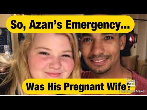 #90dayfiance, AZAN TEFOU's WIFE IS PREGNANT??!!