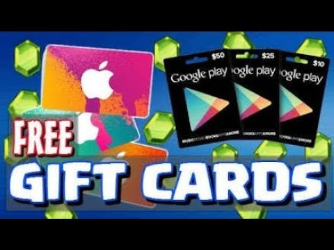 HOW to get FREE GOOGLE PLAY GIFT CARDS to BUY CLASH OF CLANS GEMS