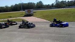 Jakes wreck! South florida karting