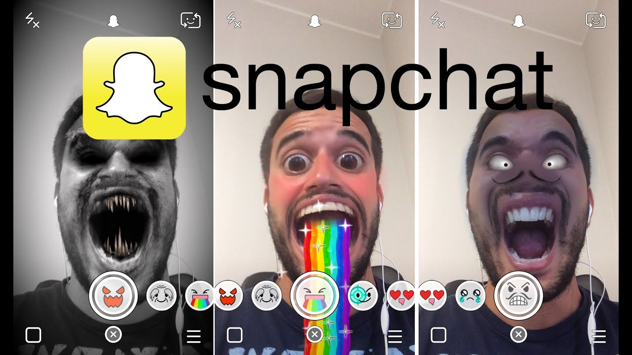 how to add snapchat filters to existing photos