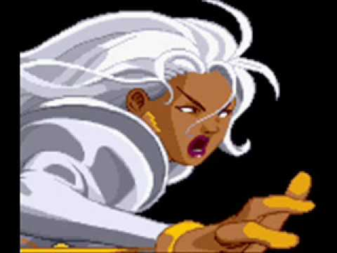 X-Men Vs Street Fighter-Theme of Storm