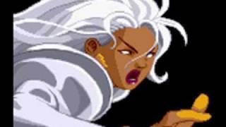 X-Men Vs Street Fighter-Theme of Storm Video