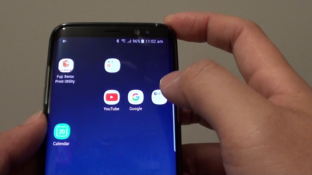 Samsung Galaxy S8: How to Move Apps Out of a Folder on Home Screen