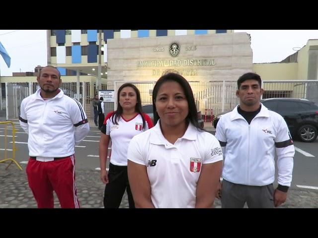 DEPORTISTAS AGRADECEN A LA MUNICIPALIDAD DE BELLAVISTA
