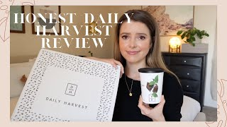 UNSPONSORED Daily Harvest Taste Test & Review | Is it Worth It?