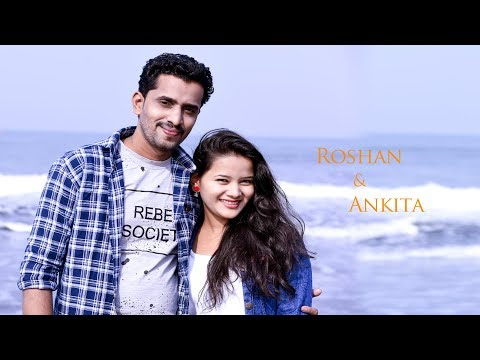 Tere Bin Nahi Lagda Dil Mera Dholna Ll SIMMBA Ll Roshan & Ankita Ll Best Pre Wedding Video 2019