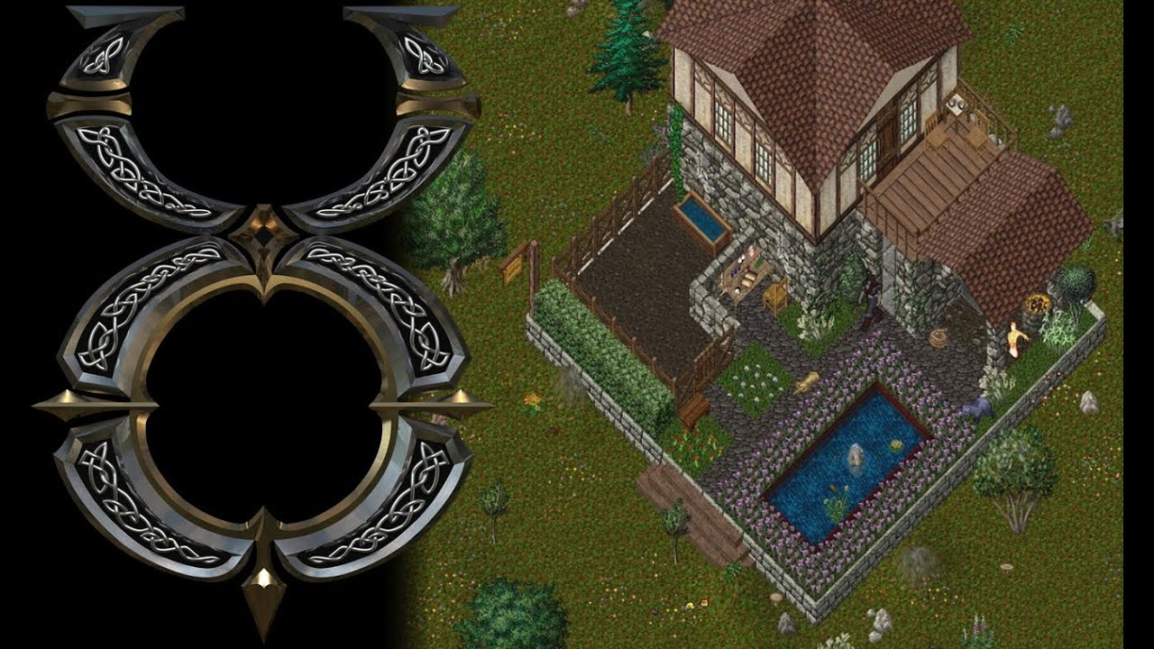 Ultima Online Building A Custom Medium House Youtube