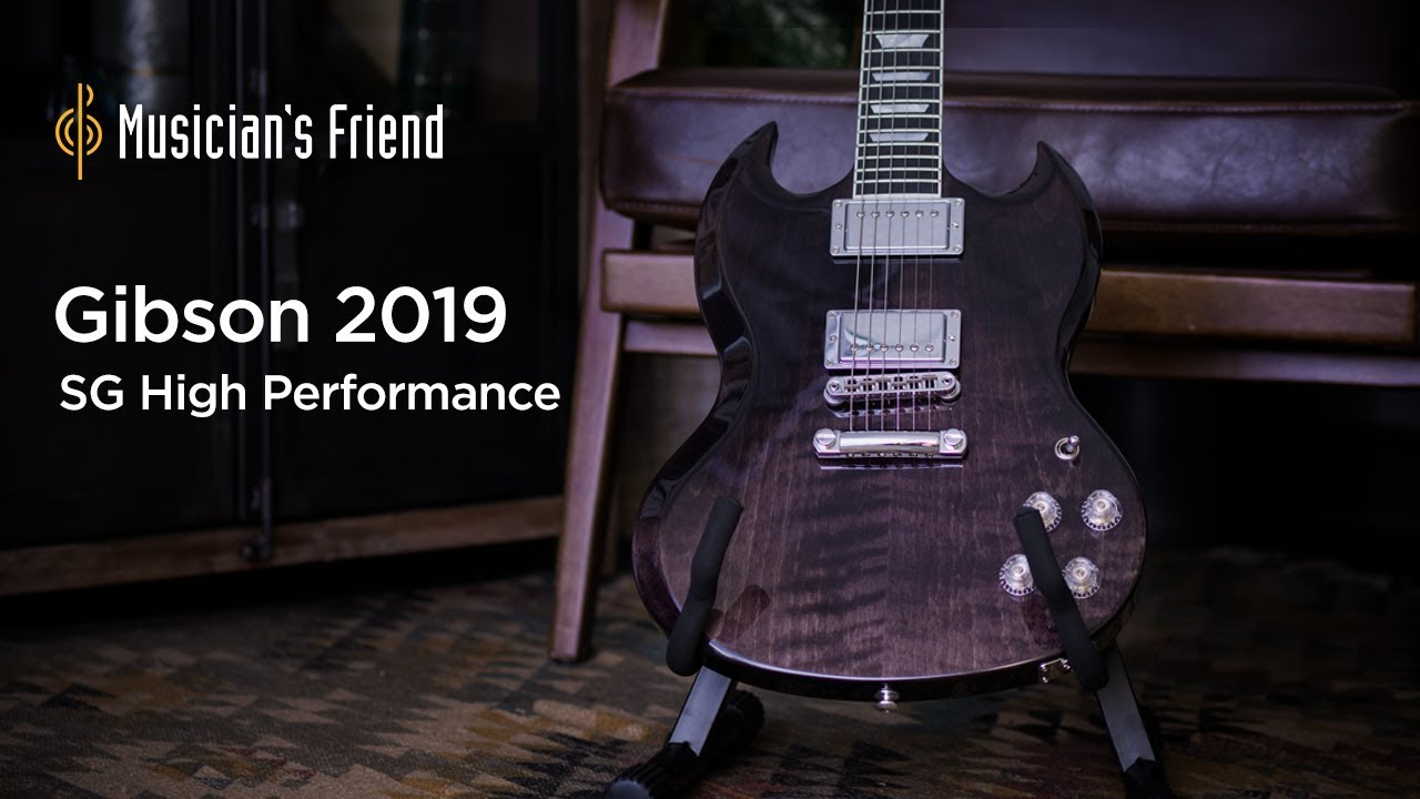 Gibson 2019 SG High Performance Electric Guitar Demo