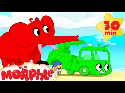 Summer Fun - Morphle vs Orphle   Cartoons for Kids   My Magic Pet Morphle
