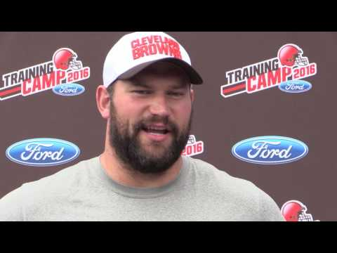 Joe Thomas on his sore back and the Cleveland Browns offensive line play