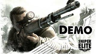 Sniper Elite V2 Demo -  2nd PLAYTHROUGH Let's Play  - Bullet Time