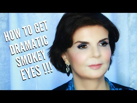 Dramatic Smokey Eyes for Mature Women | Holidays & Special Events Glamour | mathias4makeup