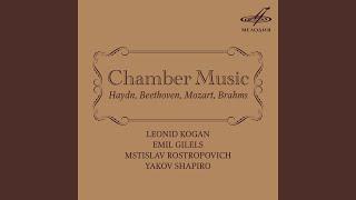 Piano Trio in E-Flat Major, WoO 38: III. Rondo - Allegretto