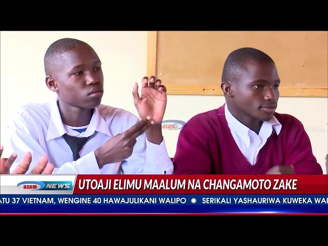 Ufundishaji wanafunzi wenye ulemavu wa kusikia unakabiliwa na changamoto kubwa