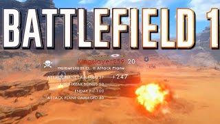 ONE SHOT! – Battlefield 1 Attack Plane Tank Hunter | #TylkoWBattlefield1