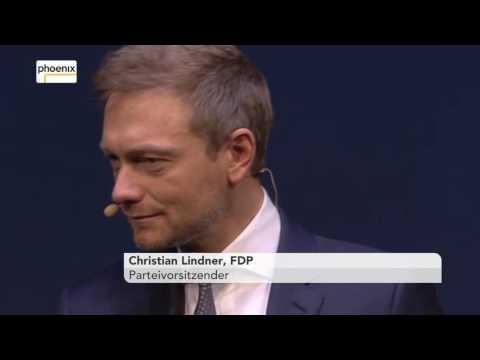 Dreikönigstreffen der FDP: Rede von Christian Lindner am 06.01.2017