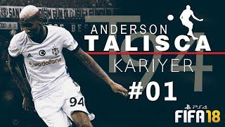 TALISCA Kariyer #01 ★ Geleceğin SÜPERSTAR´ı - Efsane Seri Başlıyor !!! | FIFA 18 | PS4