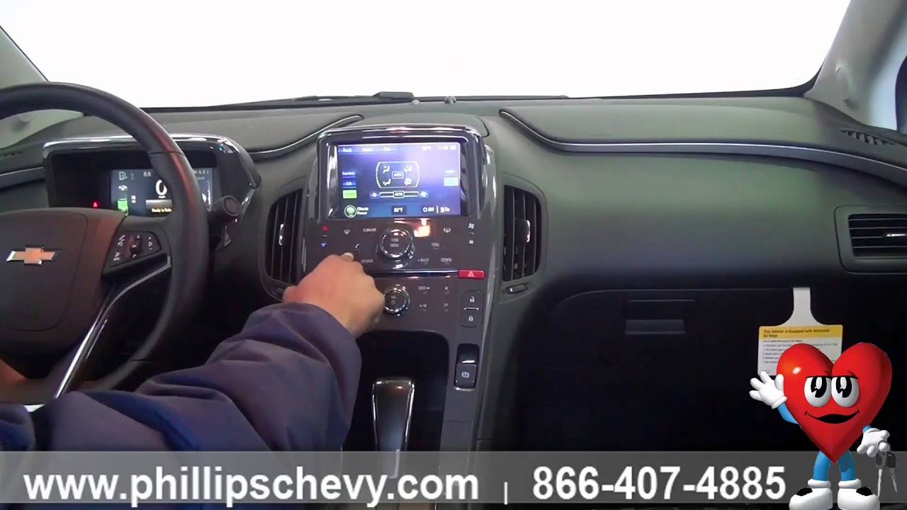 Phillips Chevrolet - 2014 Chevy Volt - Interior Walk Around ...