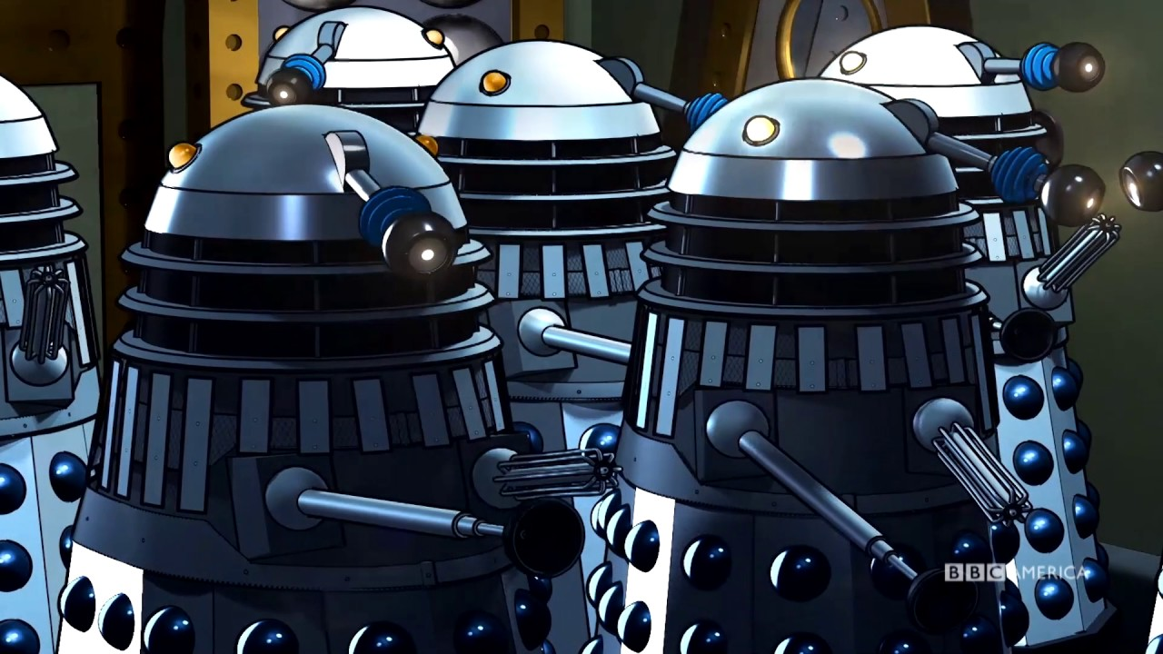 The power of the daleks now available to stream in color - The power of color ...