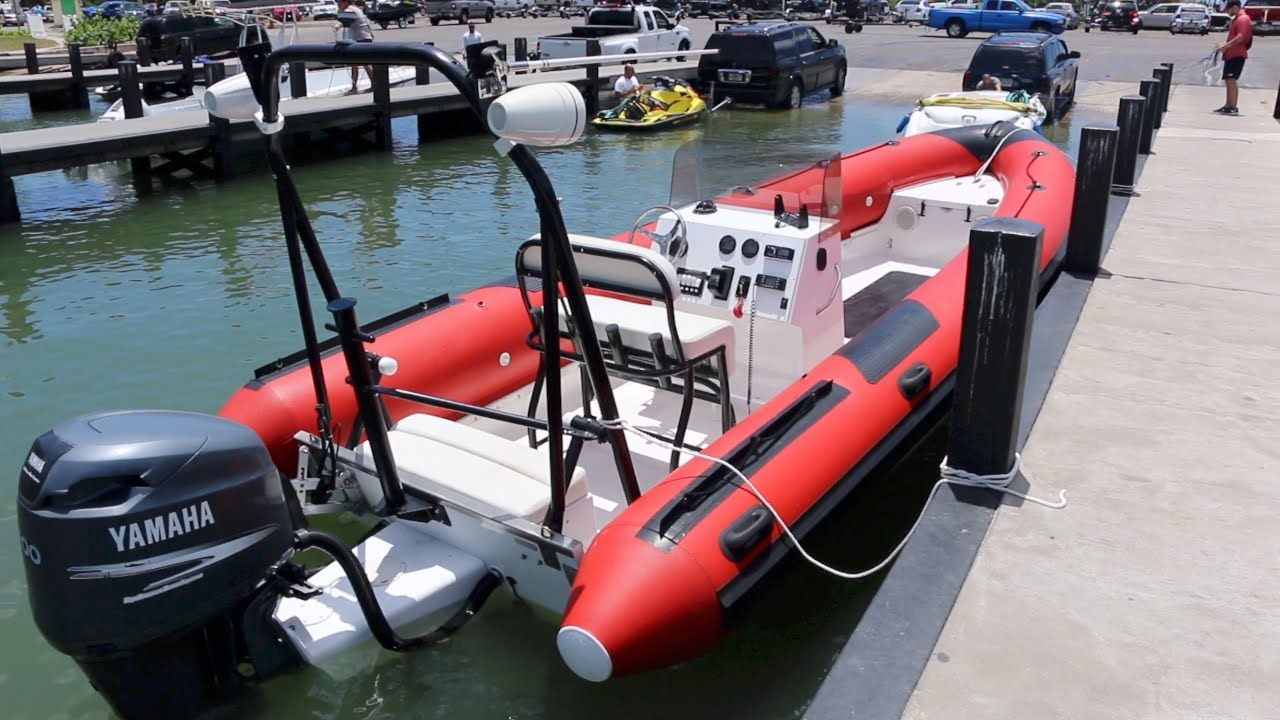 otech ocean sprint rib boat 22 for sale  [ 1280 x 720 Pixel ]