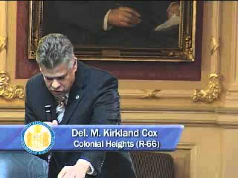 House Majority Leader Kirk Cox on Senate Budget