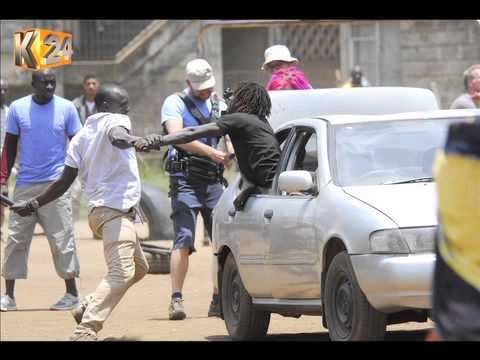 Cast And Crew Of Mega Sci-Fi TV Series Shoots In Nairobi