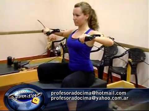 Empujes para Pectorales. Pilates Reformer Vs Máquina de Musculación