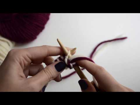 How to Double Knit | WE ARE KNITTERS