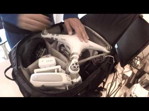 Must Have DJI Phantom 3 Drone and GoPro Waterproof Travel & Carryon Backpack/bag by Hobby-Ace