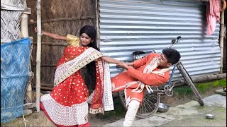 বাংলা ফানি ভিডিও সফিকের পাগলী বৌ।Funny Video। Palli Gram TV Latest Video.