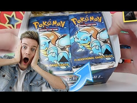 REACTING to my $11,000 Base Set Booster Box Opening