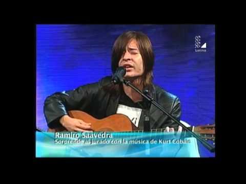 Imitador de Kurt Cobain sorprendió al estricto Ricardo Morán