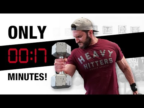 BIGGER Biceps Made Easy (SUPER FAST SUPER-SETS!)