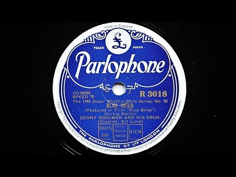 Benny Goodman and His Orchestra – Blue Skies