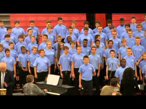 GMS 7th & 8th Grade Choir - 2014