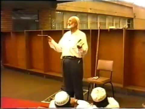 Ahmad Deedat - Pre Khutbah talk at University of Natal